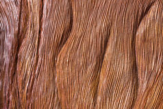 Traditional Handicarved Brown Wood Background. Traditional Handicarved Brown Woods Background Stock Image