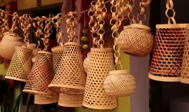 Traditional handicrafts in India stock photo
