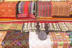 Traditional handmade carpets Stock Image