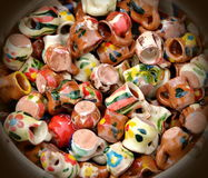 Traditional handmade pottery Royalty Free Stock Images