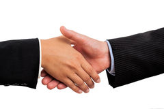 Traditional handshake Royalty Free Stock Image