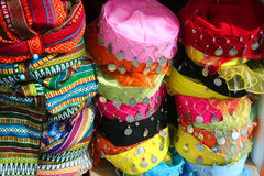 Traditional hats Stock Photography