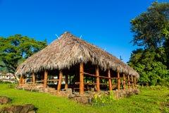 Traditional Hawaiian house stock photos