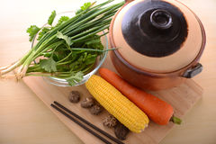 Traditional healthy living with vegetables Royalty Free Stock Photos