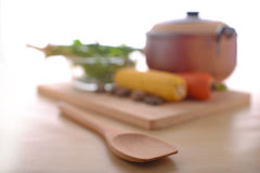 Traditional healthy living with vegetables Royalty Free Stock Images