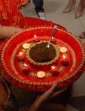 Traditional henna in Turkish wedding Stock Photos