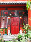 Traditional heritage shophouse Royalty Free Stock Photo