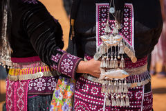 Traditional Hill Tribe Silver ornaments. Traditional Hill Tribe Silver ornaments royalty free stock photo