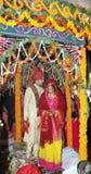 Traditional Hindu Indian wedding Stock Photo