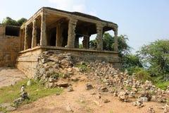 Traditional Hindu religion stone temple Stock Photo