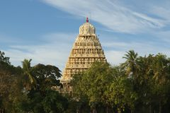 Traditional Hindu temple Stock Photo