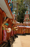 Traditional Hindu temple, South India Stock Photo