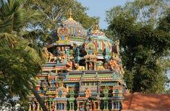 Traditional Hindu temple, South India, Kerala Royalty Free Stock Photo