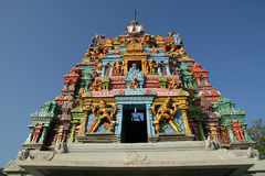 Traditional Hindu temple, South India, Kerala Stock Photography