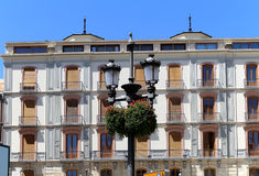 Traditional historic buildings-- Granada,Spain Royalty Free Stock Photo