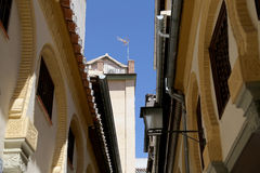 Traditional historic buildings-- Granada,Spain Royalty Free Stock Photos