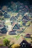 Traditional and Historical Japanese village Ogimachi - Shirakawa-go, Japan Stock Images