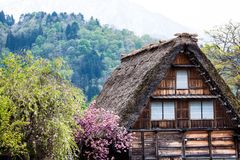 Traditional and Historical Japanese village Ogimachi - Shirakawa-go, Japan Stock Photography