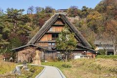 Traditional and Historical Japanese village Ogimachi - Shirakawa Royalty Free Stock Photography