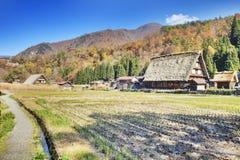 Traditional and Historical Japanese village Ogimachi - Shirakawa Royalty Free Stock Photo