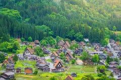 Traditional and Historical Japanese village Shirakawago in Gifu Prefecture Japan, Gokayama has been inscribed Royalty Free Stock Image