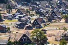 Traditional and Historical Japanese village Shirakawago Royalty Free Stock Photo