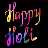Traditional Holi background of India Stock Photography