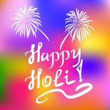 Traditional Holi background of India Stock Images