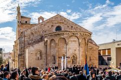 Traditional Holy Week procession in Zamora, Spain Stock Photography
