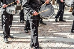 Traditional Holy Week procession in Zamora, Spain Royalty Free Stock Photography