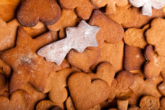 Traditional Home Baked Ginger Cookies Royalty Free Stock Image