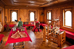 Traditional home interior Russian aristocracy of the 17th centur Royalty Free Stock Photography