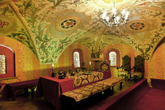 Traditional home interior Russian aristocracy Royalty Free Stock Photos