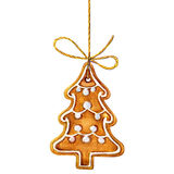 Traditional home made christmas cookie ginger Royalty Free Stock Images