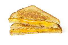 Traditional Homemade Grilled Cheese Sandwich Royalty Free Stock Image