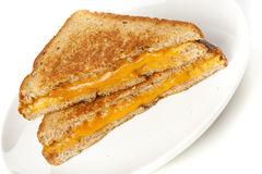 Traditional Homemade Grilled Cheese Sandwich Stock Image