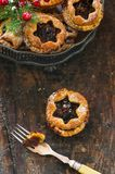 Traditional homemade mince pies. Stock Images