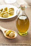 Traditional Homemade Olive Oil Royalty Free Stock Photography