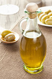 Traditional Homemade Olive Oil Stock Photos