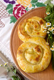 Traditional homemade Romanian and Moldovan pies - saralie. Stock Photography