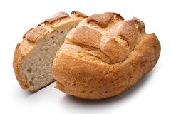 Traditional homemade round bread Stock Photography