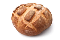 Traditional homemade round bread Royalty Free Stock Photo