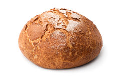 Traditional homemade round bread Royalty Free Stock Image