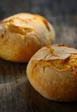 Traditional homemade round bread Royalty Free Stock Photography