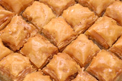 Traditional Homemade Turkish Baklava Royalty Free Stock Photo