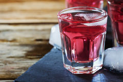Traditional homemade wine. Fresh homemade grape wine. Rustic style. Close- up .Selective focus Stock Image