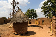 Traditional homes, Burkina Faso Stock Image