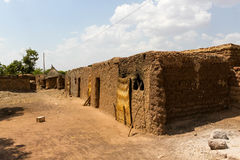 Traditional homes, Burkina Faso Royalty Free Stock Photos
