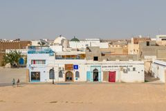 Kairouan is the fourth most holy city of the Muslim faith, Tunisia stock images