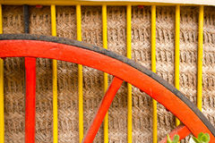 Traditional horse cart colorful detail Stock Photos